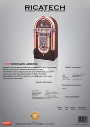 Ricatech RR200 604005 Leaflet
