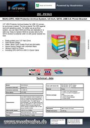 Vosstronics Zipo ZIO-P015U3 Leaflet