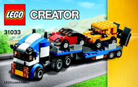 Lego Creator LEGO® CREATOR 31033 AUTOTRANSPORTER 31033 User Manual