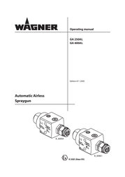 Wagner SprayTech GA 250AL User Manual