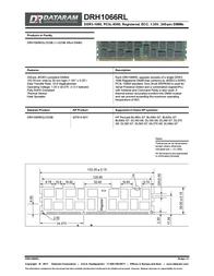 Dataram DRH1066RL DRH1066RQL/32GB Leaflet