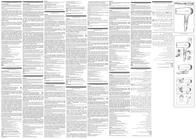 Rowenta CV 4750 Data Sheet