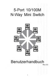 ASSMANN Electronic Digitus Fast Ethernet Switch N-Way 5 Port DN-5001D User Manual