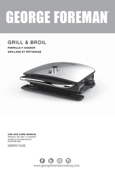 George Foreman GBR5750S Manual