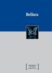 Belinea monitor 101715 17LCD User Manual