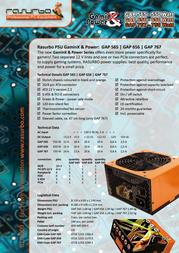 Rasurbo GAP565 ALI-0126 Leaflet