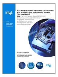 Intel WESTVILLE E7500 DUAL SCSI 12GB 2xLAN ATI SWV2SCSI User Manual