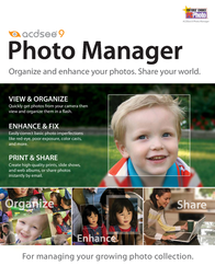 ACD Systems ACDSee 9 Photo Manager Volume License 1-5 users ACD9L1EN Leaflet