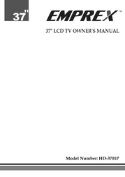 Emprex HD-3701P User Manual