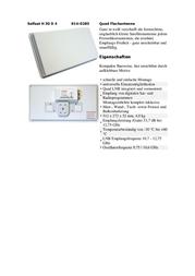 Selfsat H30D 0200151 Data Sheet