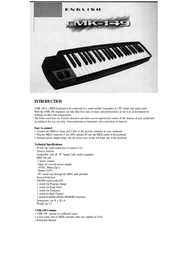Studiologic cmk-149 Manual De Usuario
