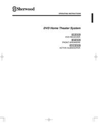 Sherwood ASW-670 User Manual