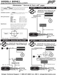 Stinger Pop Stopper SGN21 Leaflet