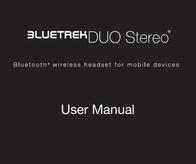 Bluetrek duo stereo User Guide