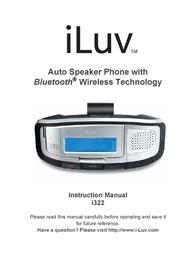 iLuv ii322 User Manual