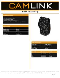 CamLink CL-MILANOBLK Leaflet