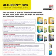Alturion GPS Standard Bluetooth 6 holder+charger+MRE ALT-GPS-STA-6T-BL-BE Leaflet
