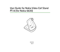 Nokia Video Call Stand PT-8 PT-8 User Manual