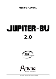 Arturia JUPITER-8V 2 User Manual