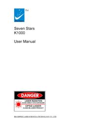Seven Star Supreme Premium Products - Laser Pointer K1000 User Manual