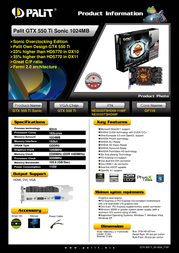 Palit NE5X55TSHD09F Leaflet