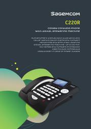 Sagemcom CC220R Leaflet