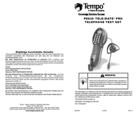 Greenlee PE830 User Manual