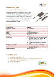 Xtorm AM650 Leaflet