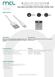MCL ACC-IP05Z Leaflet