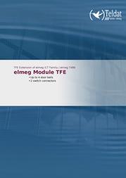 Teldat elmeg Module TFE 1085085 Leaflet