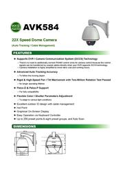 CPcam AVK584 Leaflet