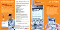 Palm TREO 600 1034EU Leaflet