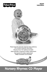 Fisher Price B4359 User Manual
