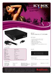ICY BOX IB-267SK-B 20273 Leaflet