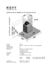 NOVY Karat 7475 7475 Leaflet