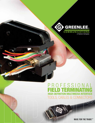 Greenlee PA4017 User Manual