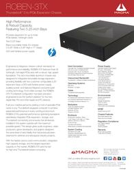 Magma ROBEN-3TX Leaflet