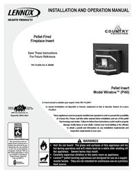 Maytag WINSLOW PI40 User Manual