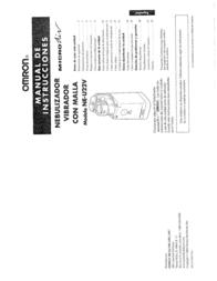 Omron Healthcare MICROAIR NE-U22V User Manual