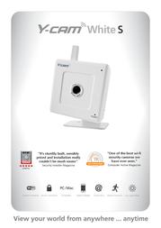 Y-cam White S YCW004 Leaflet