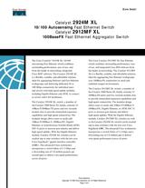 Cisco 2912mf xl Data Sheet