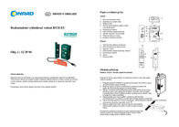 Extech RT32 Cable tester, cable tester RT32-EU Leaflet