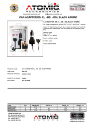 Atomic Accessories DSA.134 Leaflet
