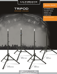 Ultimate Support Systems Classic Series Microphone Stand MC-05B User Manual
