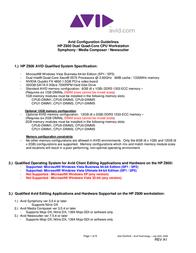 Avid Technology HP Z800 User Manual