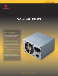 CoolMax V-400 Leaflet