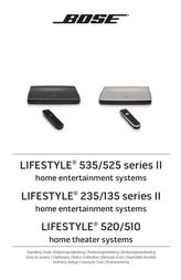 Bose Lifestyle 235 365238 User Manual