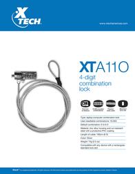 Xtech XTA-110 Leaflet