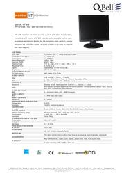 QBell Technology QBSP.17NB P216100A Leaflet