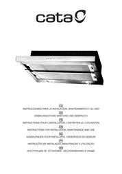 CATA TF 3600 BLACK User Manual